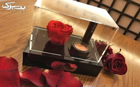 پکیج 2:گل رز سیاه جاودان با رژ لب از رزشید
