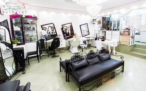 براشینگ مو در آرایشگاه لیدا