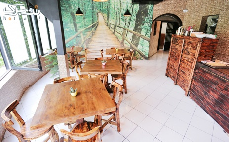 منوی باز کافی شاپ در کافه رستوران آرتین