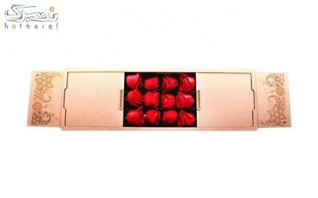 جعبه گل رز هلندی کد M502