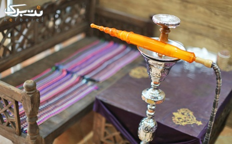 سرویس چای و قلیان عربی در سفره خانه مداین