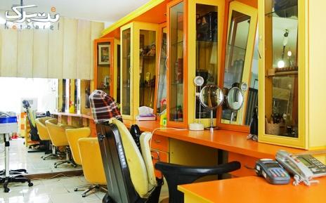براشینگ مو در آرایشگاه لیلیوم