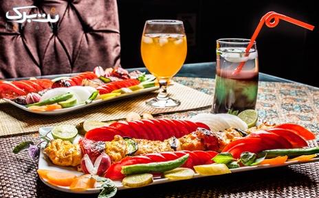 منوباز غذایی به همراه موسیقی زنده در رستوران مارال