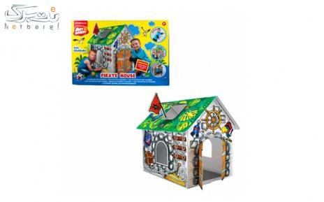 اتاق بازی رنگ آمیزی Artberry مدل خانه دزد دریایی