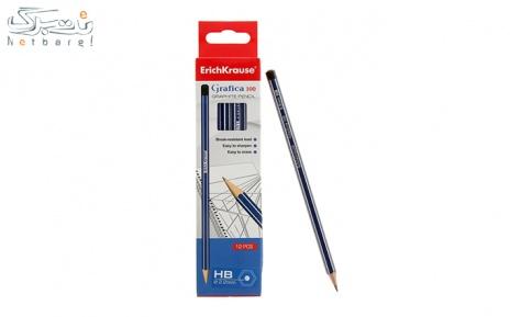 پکیج 1: مداد مشکی 12 عددی  HB برند Erichkrause