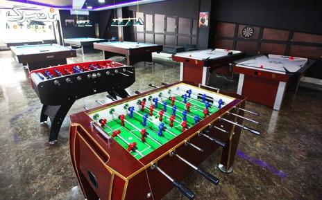 فوتبال دستی در باشگاه بیلیارد خانوادگیSP