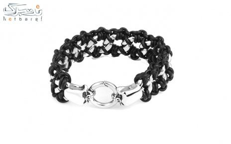پکیج 4: دستبند مردانه چرم استیل مدل 3SCB-1622