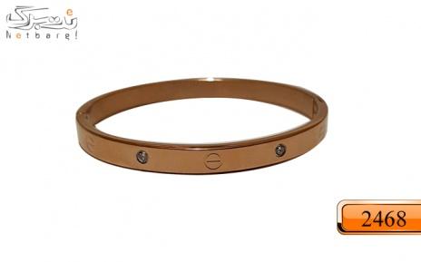 پکیج 2: دستبند استیل زنانه طلایی کد 2438
