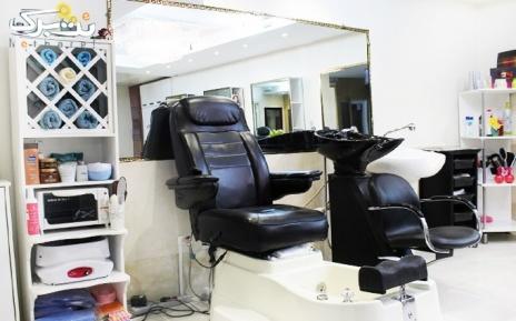 بافت مو در آرایشگاه چهرزاد