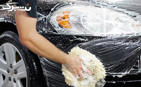 روشوئی، نظافت خودروی سواری در مجموعه هودین و هورام