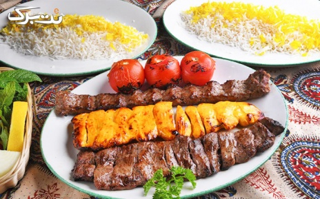 منو باز غذایی در باغ رستوران البرز درکه