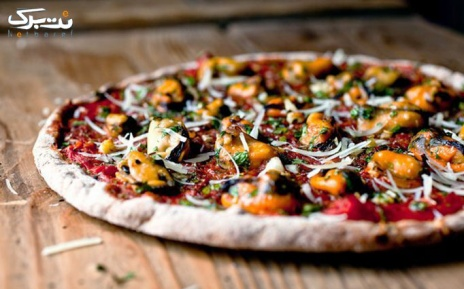 منو باز پیتزا ایتالیایی در فست فود پاموک