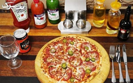 پیتزا و پاستا در رستوران ایتالیایی پیاتو