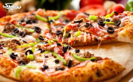 منوی چیکن و پیتزا در رستوران چیتر چیکن