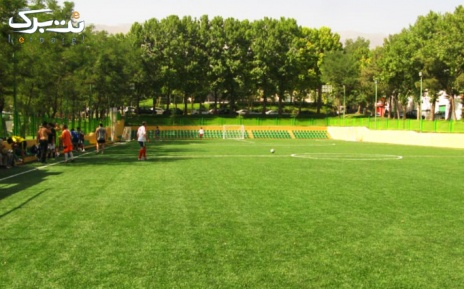زمین کوچک فوتبال چمن مصنوعی باشگاه انقلاب