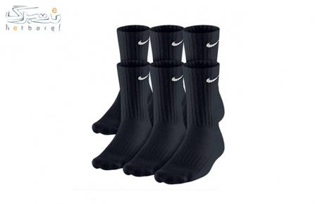 پکیج2: جوراب اورجینال  6 تایی  Nike | نایک کد sx5171 از صدرا اسپرت