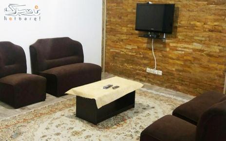 اتاق 2 خوابه 4 تخته با امکانات کامل در مجتمع تفریحی سارینا