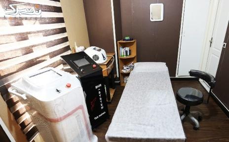 لیزر  SHR ناحیه زیر بغل در مطب آقای دکتر جعفرزاده