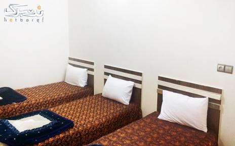 پکیج 2: آپارتمان یک خوابه سه تخته در هتل آپارتمان فردوس قم