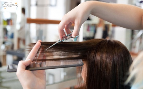موهای زیبا با خدمات کوپ مو  و رنگ کامل مو در سالن زیبایی شکوفه باران