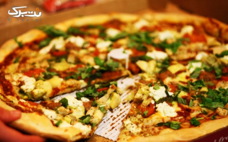 منوی باز پیتزا در فست فود کندو
