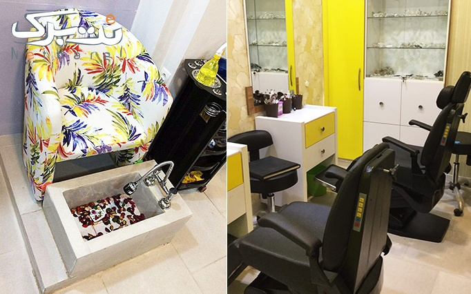 ماساژ ریلکسی در آرایشگاه خانم نبات