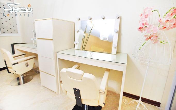 مانیکور ناخن در آرایشگاه فرناز امیرزاده