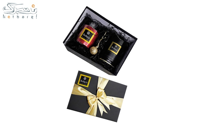 گیفت باکس قهوه فوری سولیس Solace BLACK و شمع