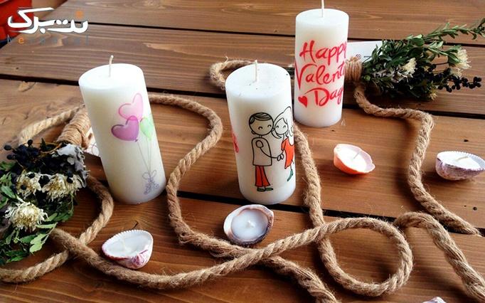 انواع شمع های روز عشاق از شرکت آسا تجارت کیش