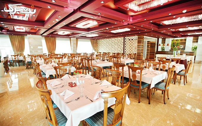 بوفه ناهار شنبه تا 5 شنبه در رستوران هتل سیمرغ