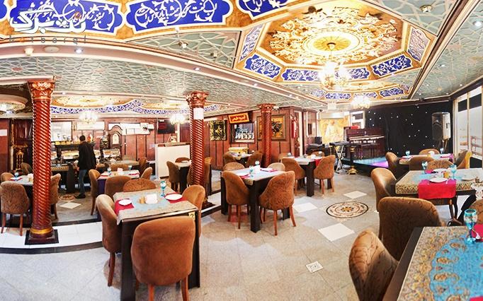 رستوران شهرزاد ولنجک با بوفه صبحانه