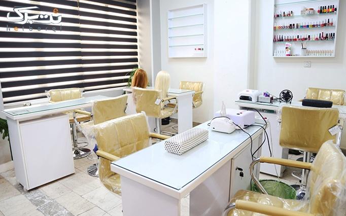 میکاپ و براشینگ مو در آرایشگاه تیام