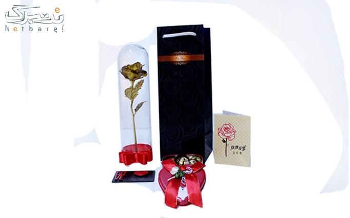 پکیج ویژه ولنتاین + ساک ویژه هدیه از گالری فلوریا