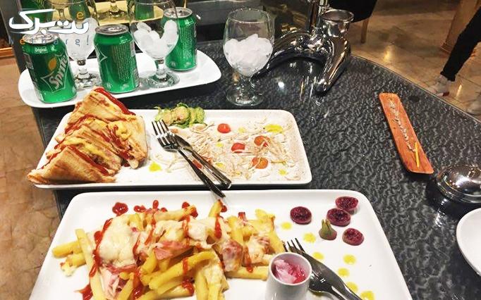 کافه رستوران سپند با منوی باز پیتزاهای لذیذ