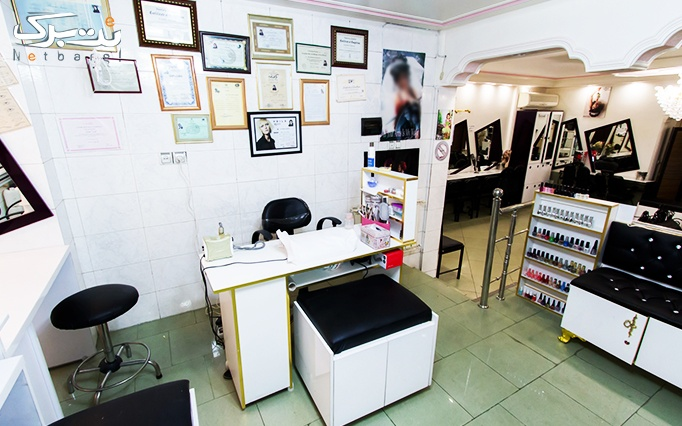 کوتاهی مو و اصلاح ابرو در آرایشگاه لیدا