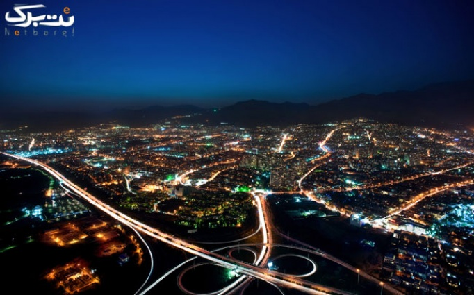 بازدید از سکوی دید اختصاصی برج میلاد