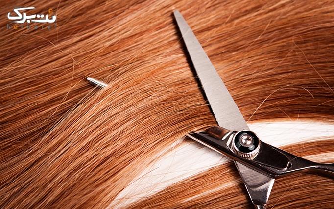 کوتاهی مو در آرایشگاه سان رایز
