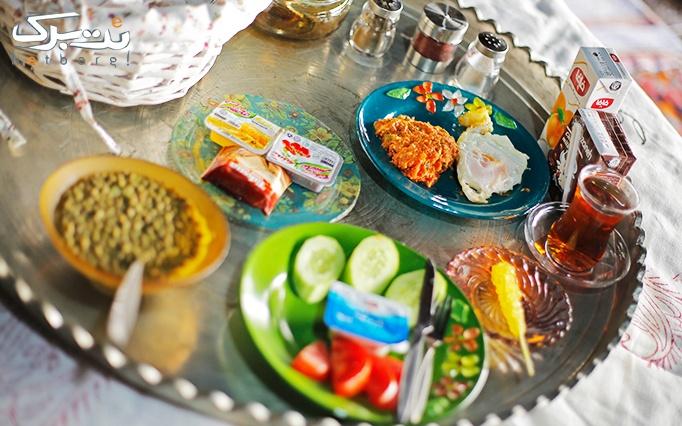 بوفه صبحانه در کافه رستوران ایل بختیاری