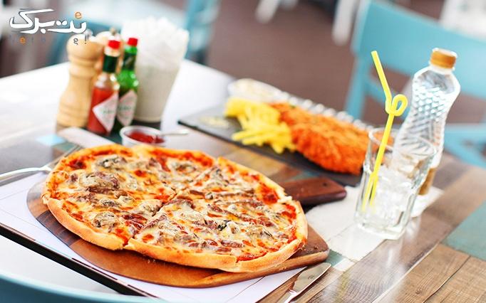 منوی باز غذاهای اصلی و پیش غذا در رستوران سران