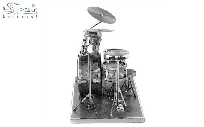 پازل سه بعدی فلزی جاز از فروشگاه ایران پازل