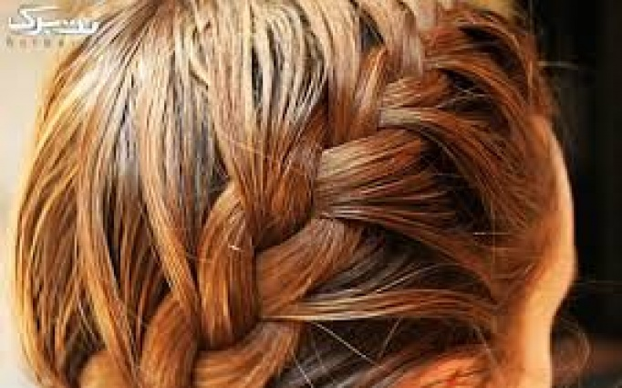 بافت مو در آرایشگاه نسیم صبا