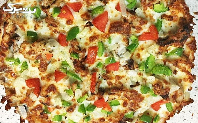 پیتزا سفیر با منو باز انواع پیتزا و ساندویچ