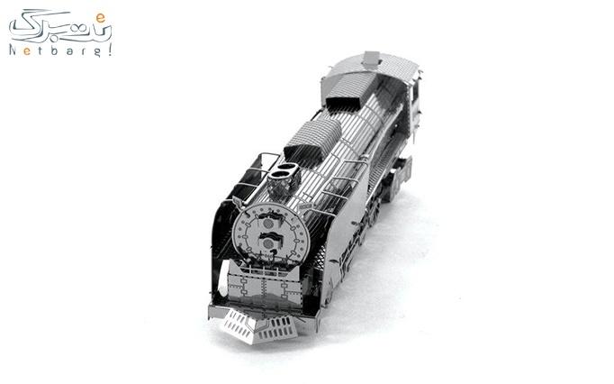پازل سه بعدی فلزی لوکوموتیو از فروشگاه ایران پازل