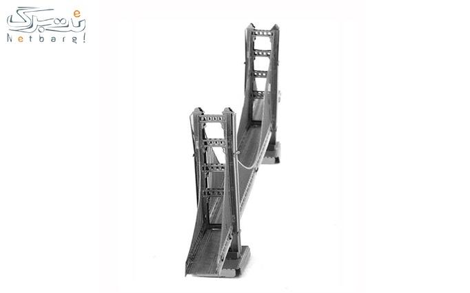 پازل فلزی  پل گلدن بریج کالیفرنیا از فروشگاه ایران
