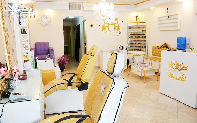 شینیون مو در آرایشگاه رزابیوتی