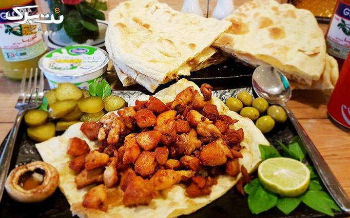 غذای خاص با لذیذترین غذای ایرانی (مرغ سنگی)