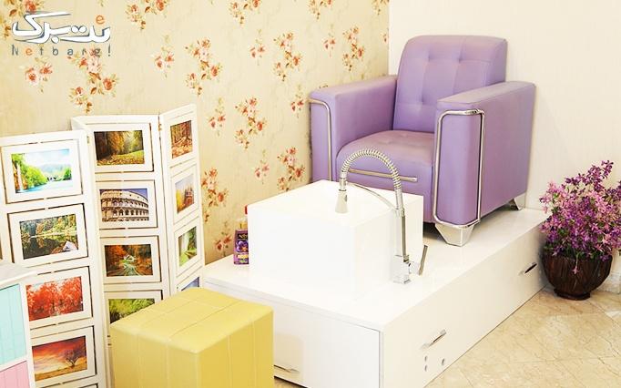 کاشت و انواع طراحی ناخن در آرایشگاه رزابیوتی