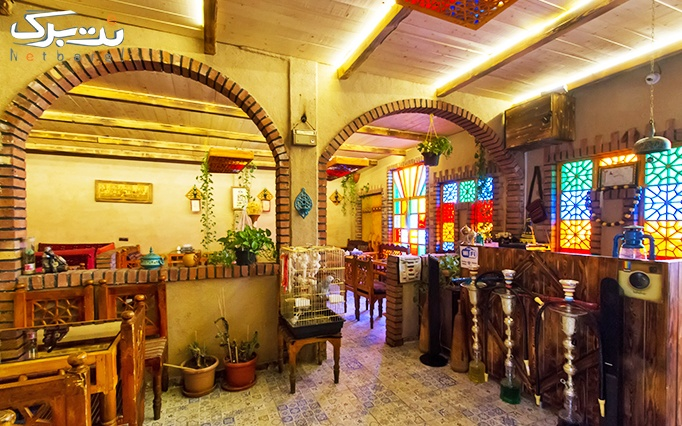 سفره خانه بابا حاجی با سرویس چای سنتی عربی