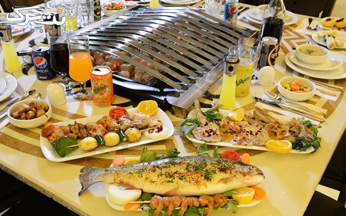 رستوران منقل باشی پدیده شاندیز با منو غذای ایرانی