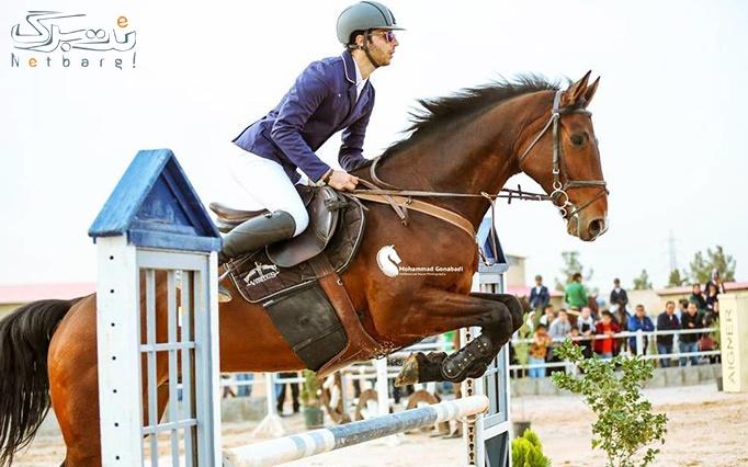 یک جلسه اسب سواری تفریحی در مجموعه سوار کاری سوران
